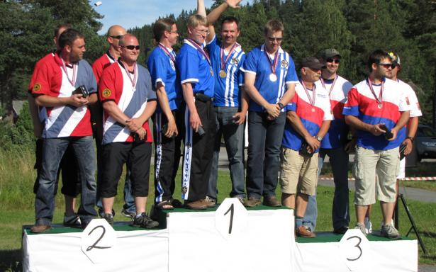 OPEN SEMI-AUTO - TEAM Overall Match Results