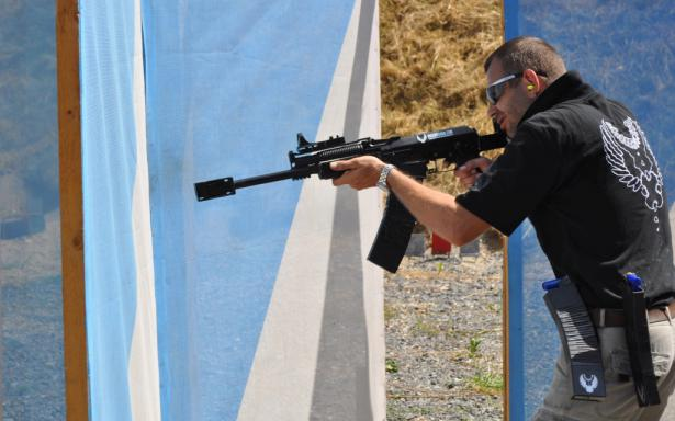 Molot Vepr 12 in action