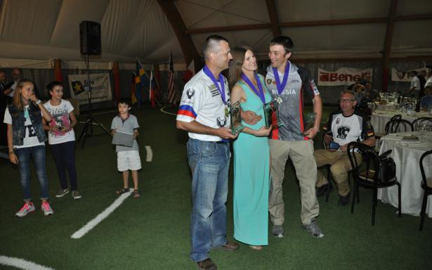 IPSC Shotgun Open WorldShoot medalists