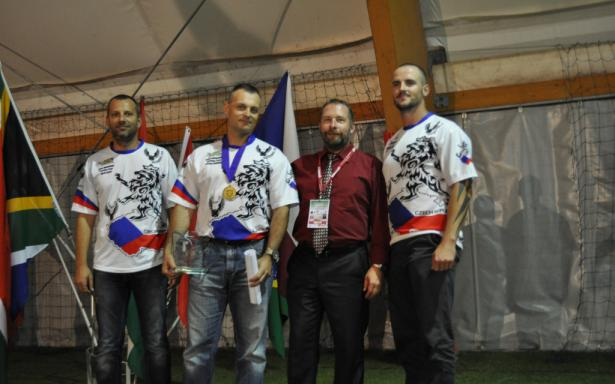 Guys with presindent of Czech IPSC