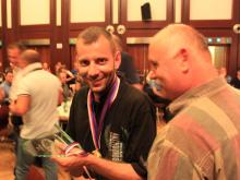 Maxrounds Team leader Miloš Kazda after awarding ceremony