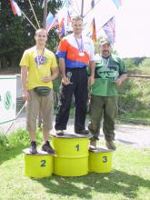 Awarding ceremony Open division Czech National Championship 2011