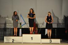 Awarding ceremony Standard division Lady category