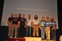 Awarding ceremony open teams