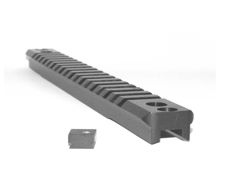 Weaver Picatinny optics mount rail for Saiga 12