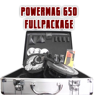 PowerMag 650 - Full Pakke